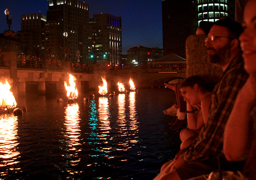 Waterfire Providence RI Summer Event