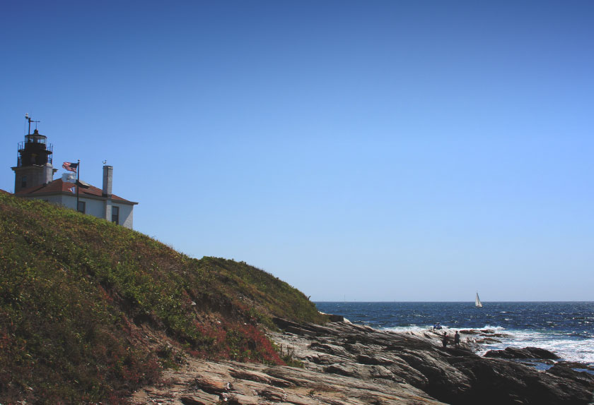 Beavertail Lighthouse Trail, Rhode Island