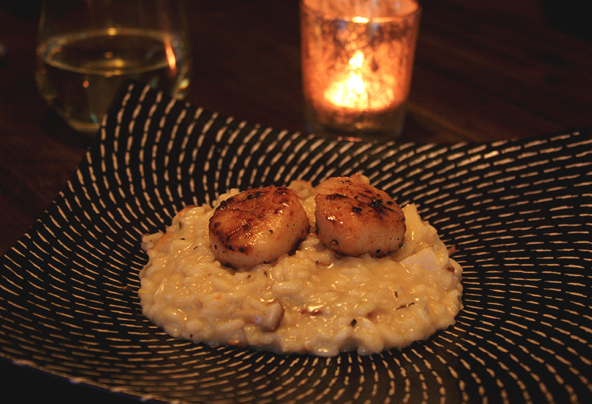 oyster-mushroom-risotto-with-scallops