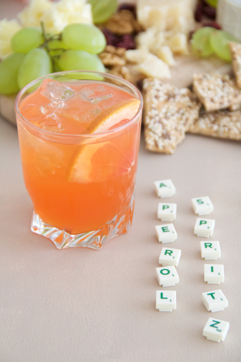 Aperol spritz with a twist