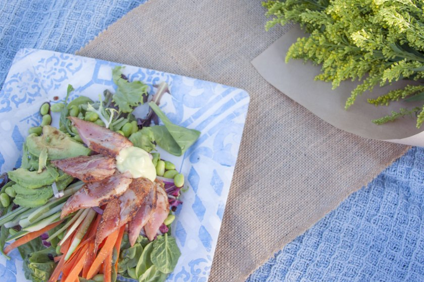 Seared Tuna Ahi Salad Recipe