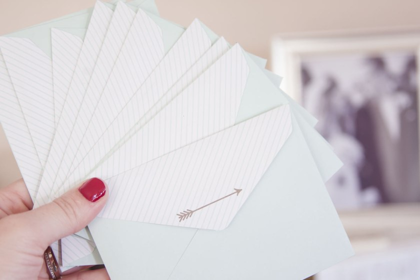 DIY Valentine's Day ideas: Hide handwritten cards around the house