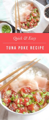 Quick and easy ahi tuna poke recipe